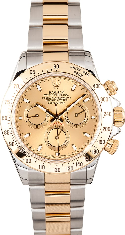 Rolex Two-Tone Daytona Chronograph 116523