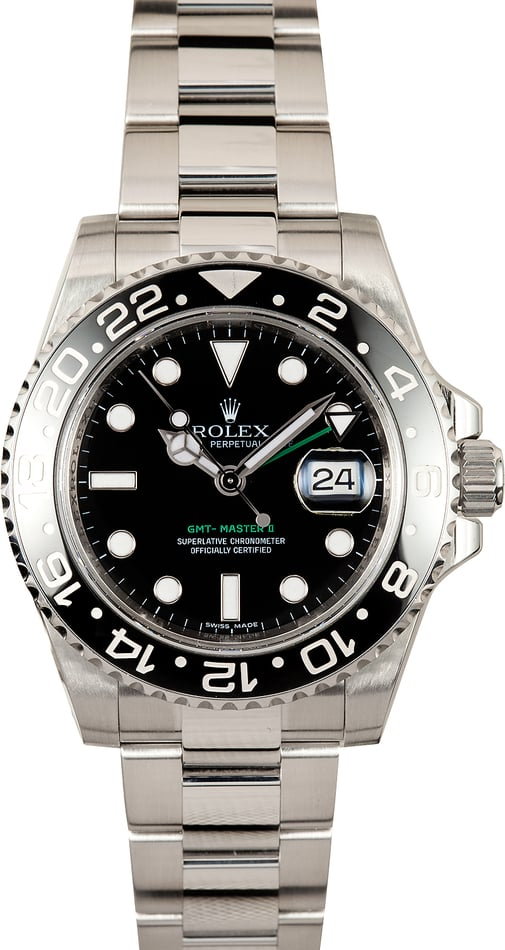 Men's Rolex GMT-Master II 116710 Pre-Owned