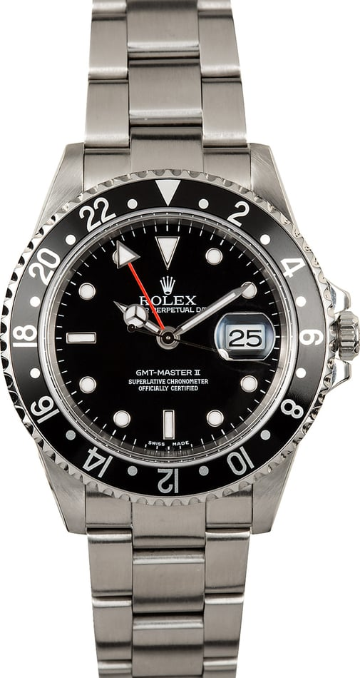 Rolex GMT-Master II 16710 Black