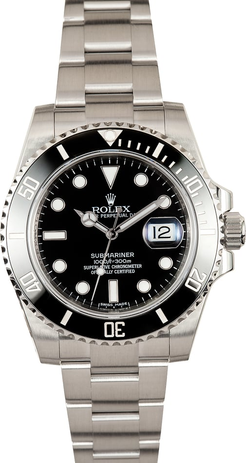Submariner Rolex 116610 Black Cerachrom