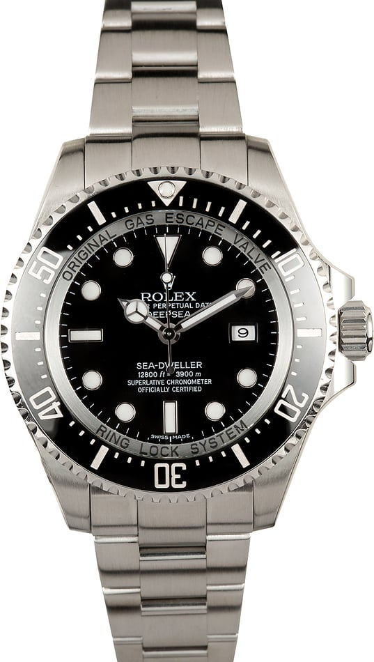 Rolex Ceramic 44MM Deepsea 116660 Sea-Dweller