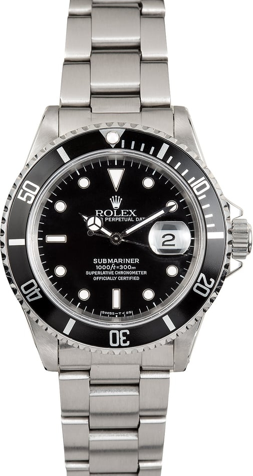 Rolex 16610 Stainless Oyster Perpetual Submariner