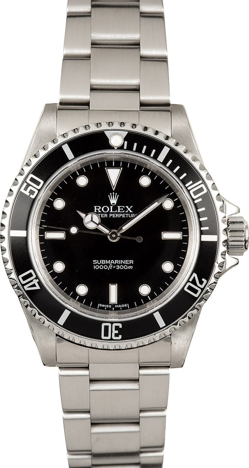 Rolex Submariner No Date 14060M Stainless Steel