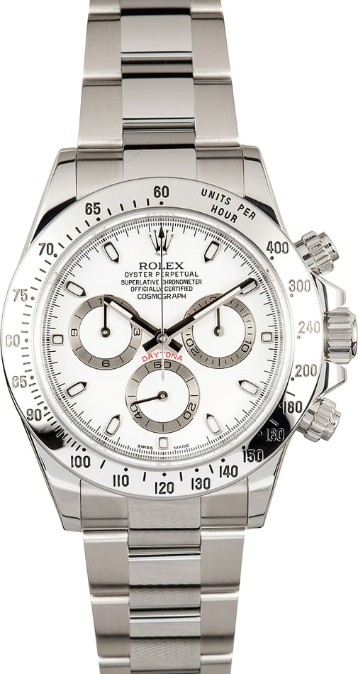 Daytona Rolex 116520 Superlative Chronometer