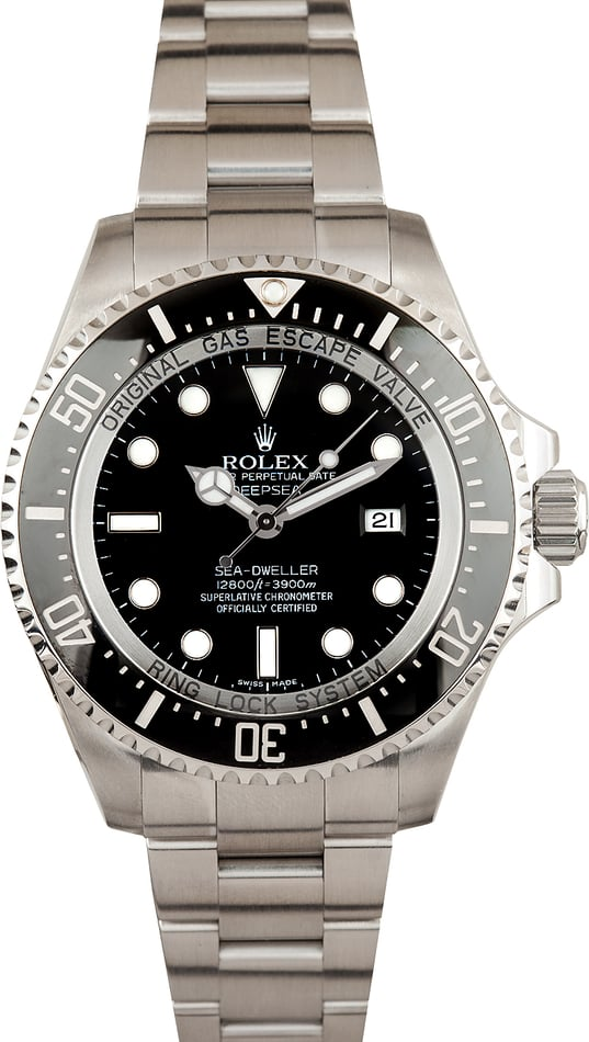 Rolex 44MM Deepsea Sea-Dweller 116660BKSO TT