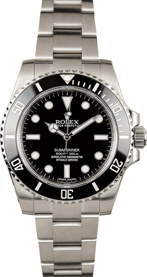 Rolex Submariner No Date 114060 Pre-Owned