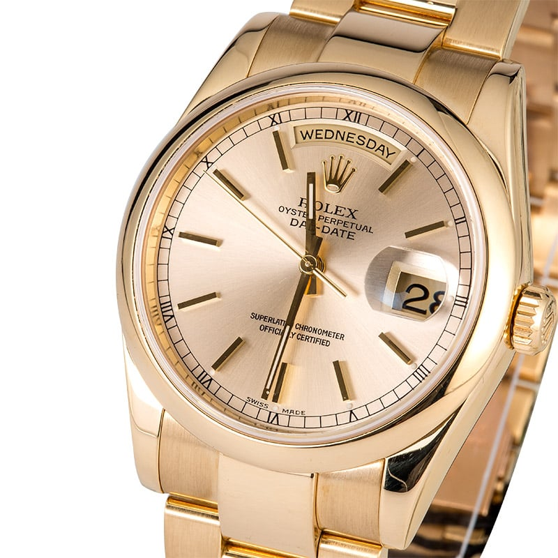 Gold Oyster Rolex