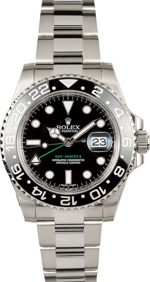 GMT-Master II Rolex 116710BKSO