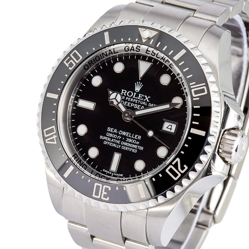 e37772500e8 8 Certified Pre-Owned Rolex Sea-Dweller watches for Sale | Bob's Watches