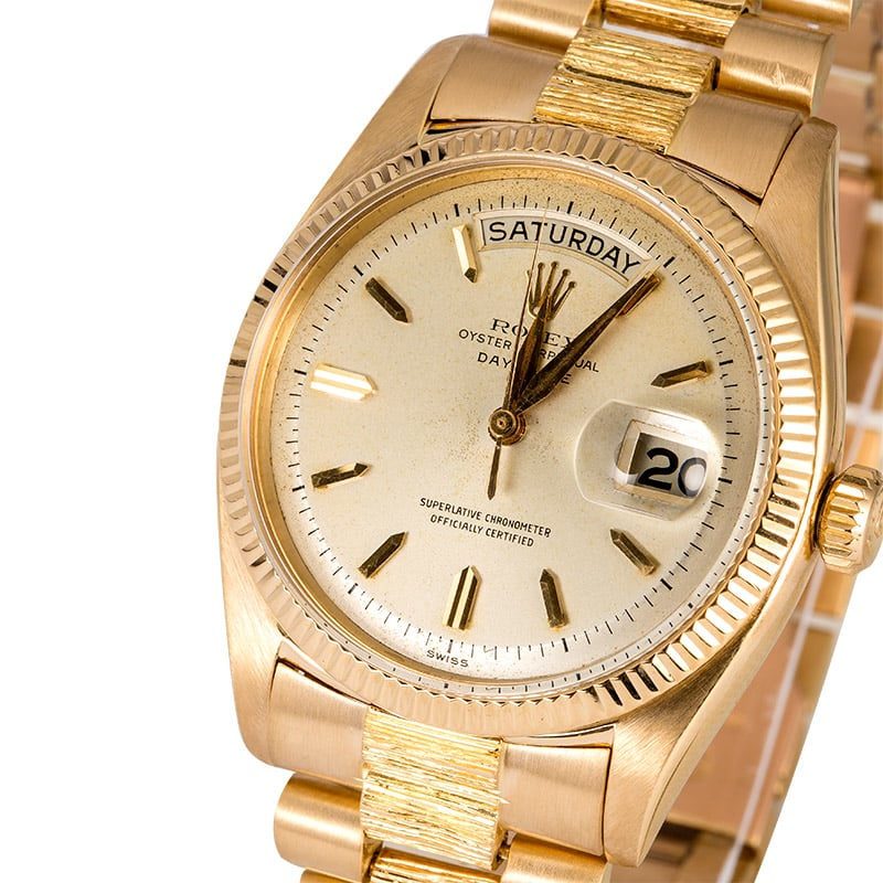 rolex president day-date watches at bob's the pre-owned rolex exchange