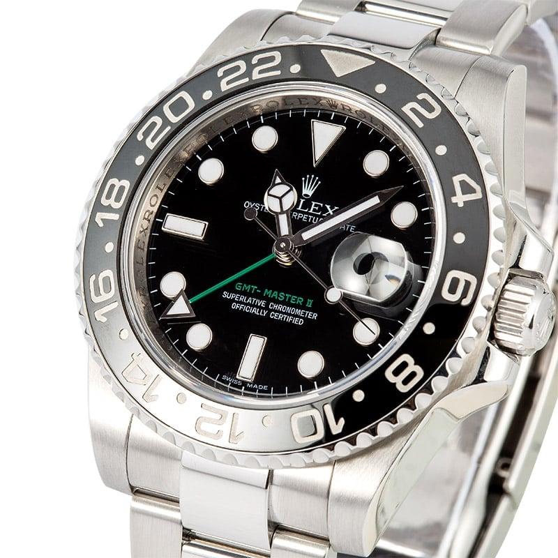Rolex gmt master ii acero