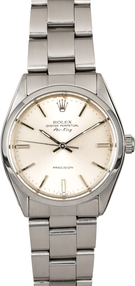 Rolex Air-King 5500 Steel Oyster Band