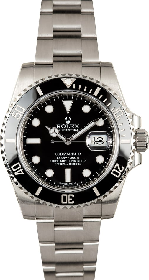 Rolex Submariner 116610 Stainless Steel Band