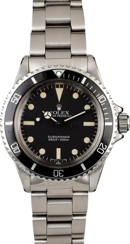 Vintage 1984 Rolex Submariner 5513 with MK IV Dial