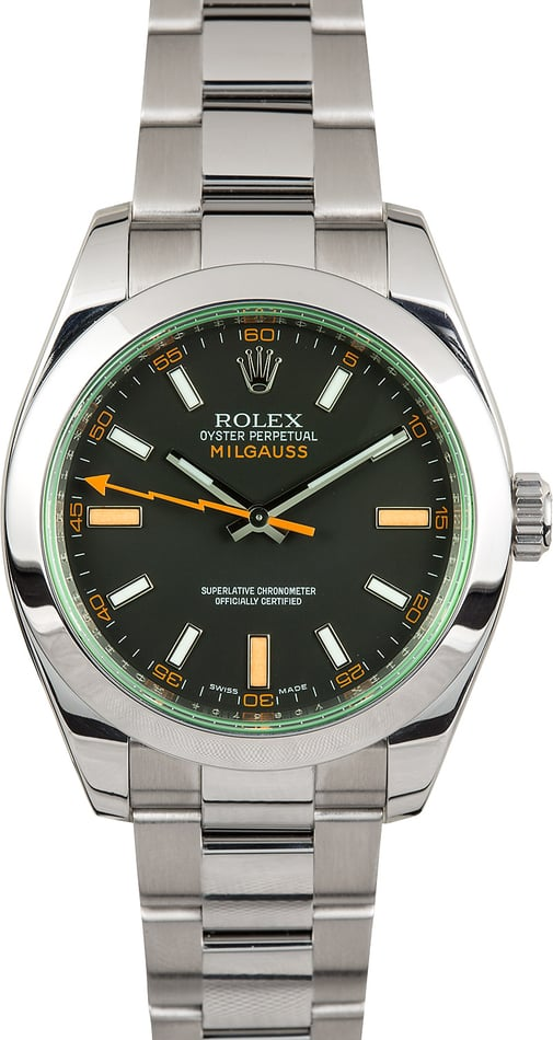 Rolex Milgauss 116400V Men's Watch