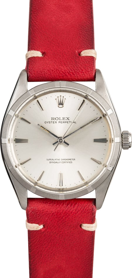 Vintage Oyster Perpetual Rolex 1003 Silver