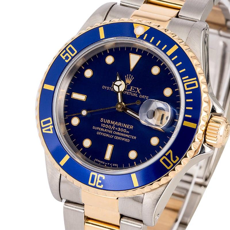 Rolex Submariner Date Blue