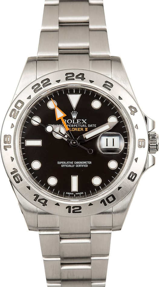 Rolex Explorer II Automatic Steel Mens Watch 216570