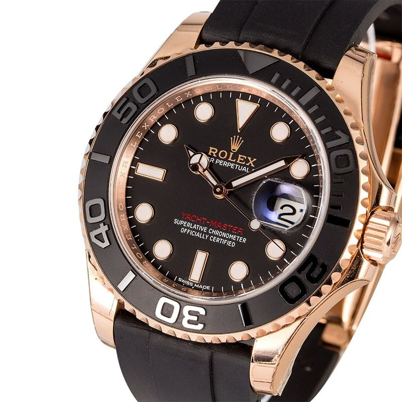 Rose Gold Rolex Yachtmaster
