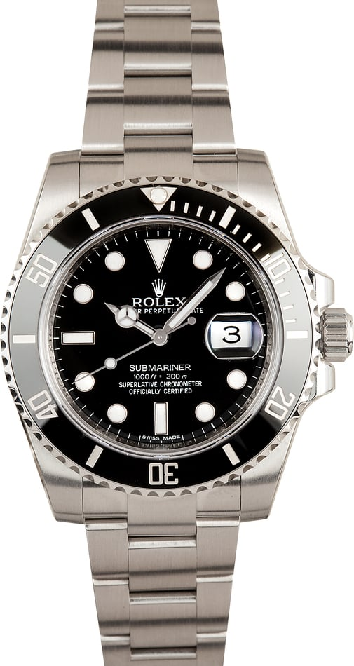 Unworn Rolex Submariner 116610 Steel Oyster