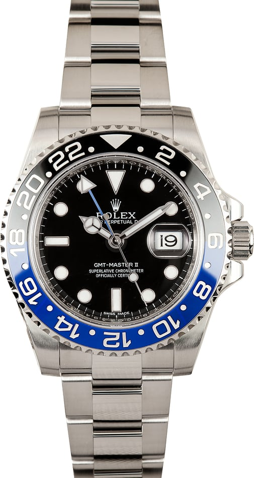 Used Rolex GMT-Master II 'Batman' 116710 Ceramic Model