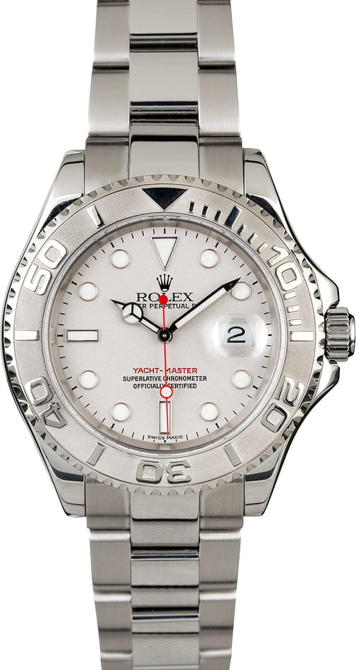 Rolex Yacht-Master 16622 Stainless Steel Men's Watch