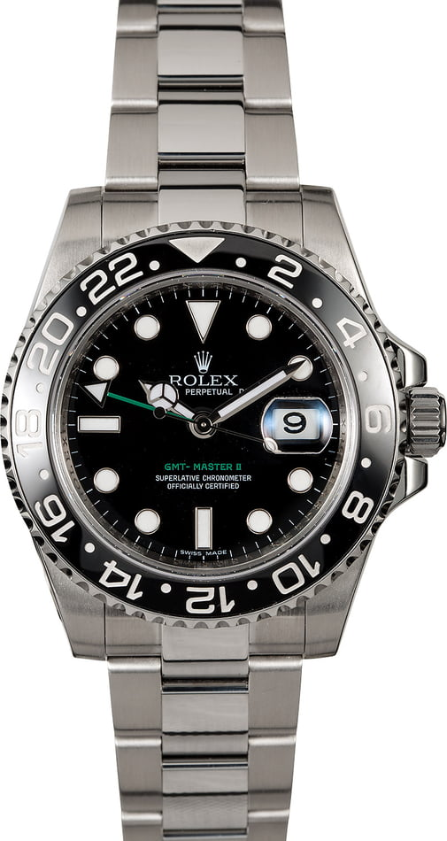 Used Rolex GMT-Master II Ref 116710 Steel Oyster