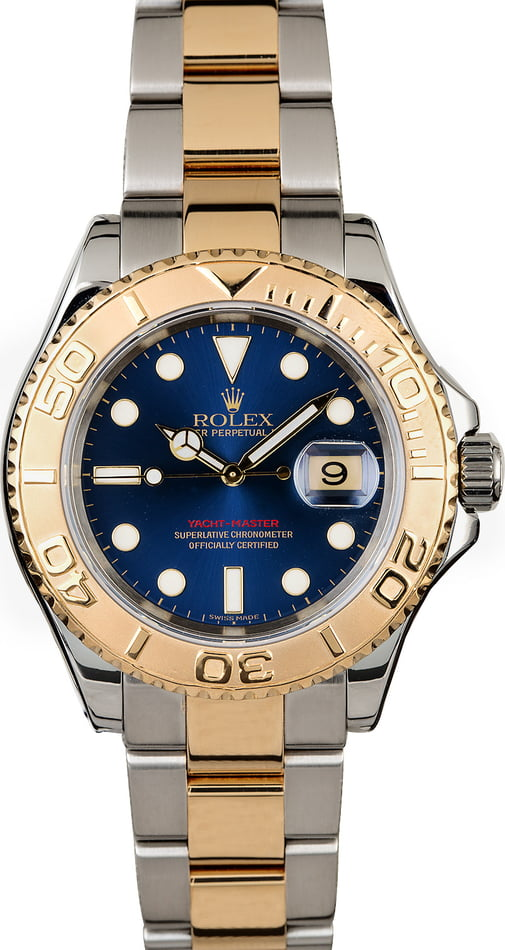 Two Tone Rolex Yacht-Master 16623