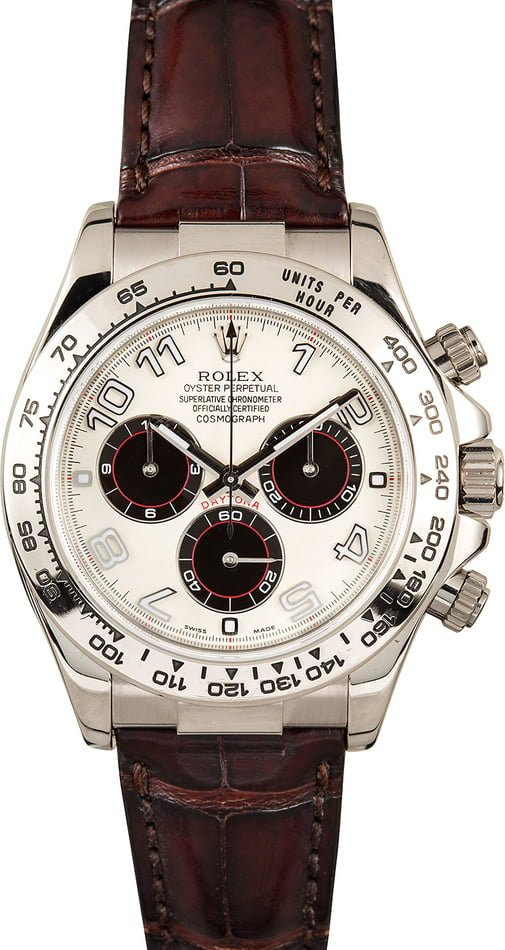 PreOwned Rolex Daytona 116519 Ivory Arabic Dial