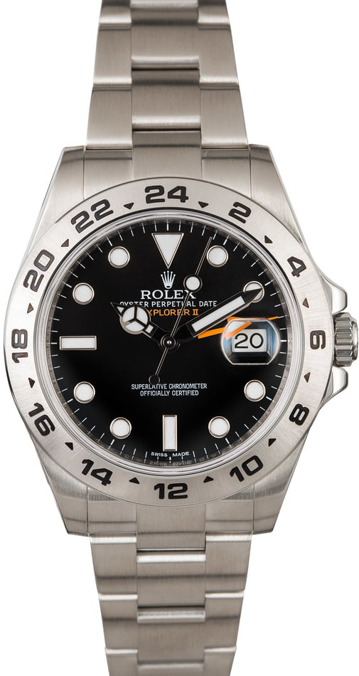 PreOwned Rolex Explorer II Ref 216570 Stainless Steel
