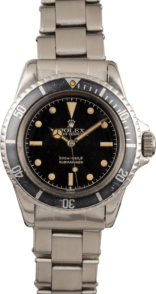Vintage Rolex 5512 Submariner No Date