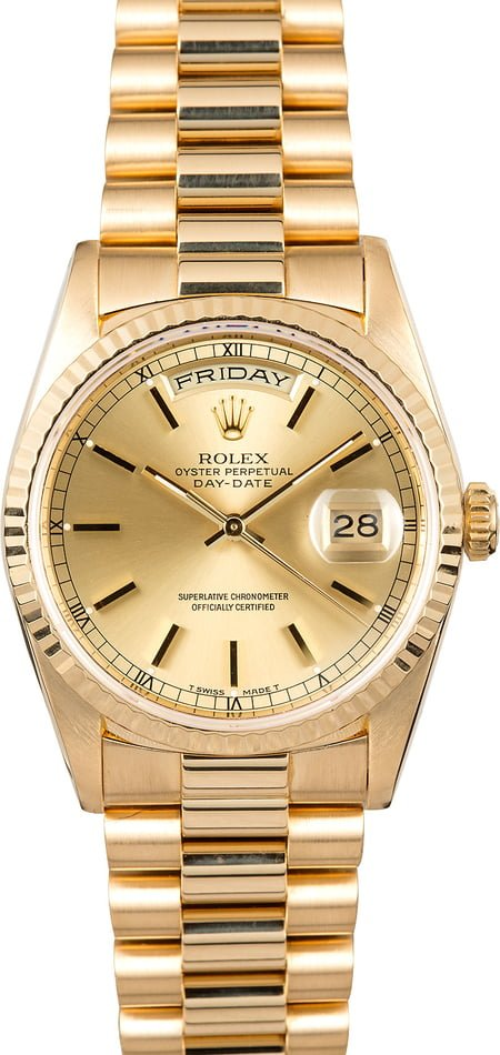 Used Rolex Day-Date 18238 President Band