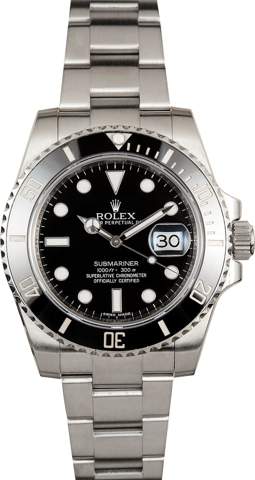 PreOwned Rolex Submariner 116610LN