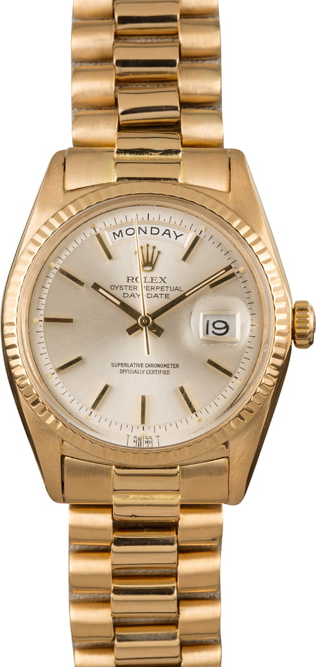 Pre Owned Rolex Day-Date 1803 President Band