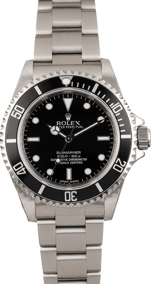 Rolex Submariner 14060 Black Dial Stainless Steel