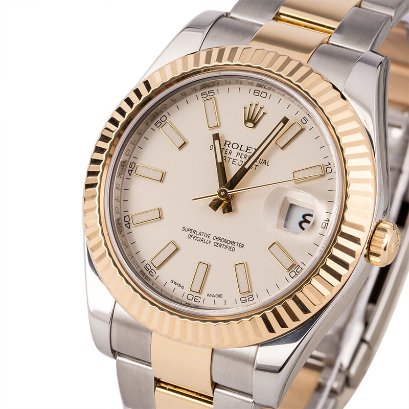 9765d947804 16 Used 41mm Rolex DateJust Watches for Sale | Bob's Watches