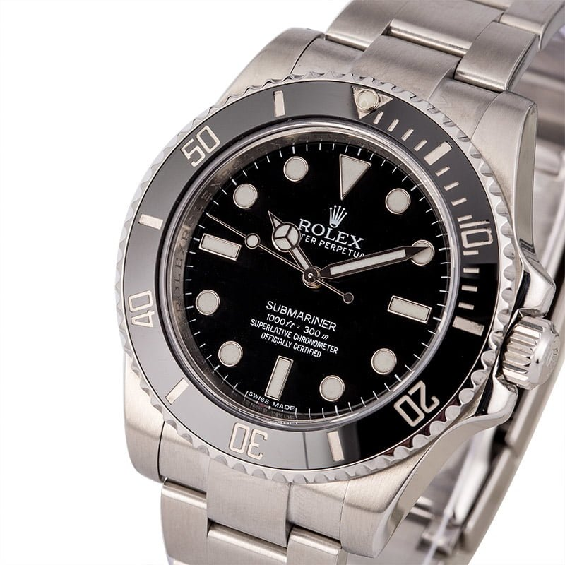 sale retailer 5880f e2b3c Rolex Submariner No Date 114060