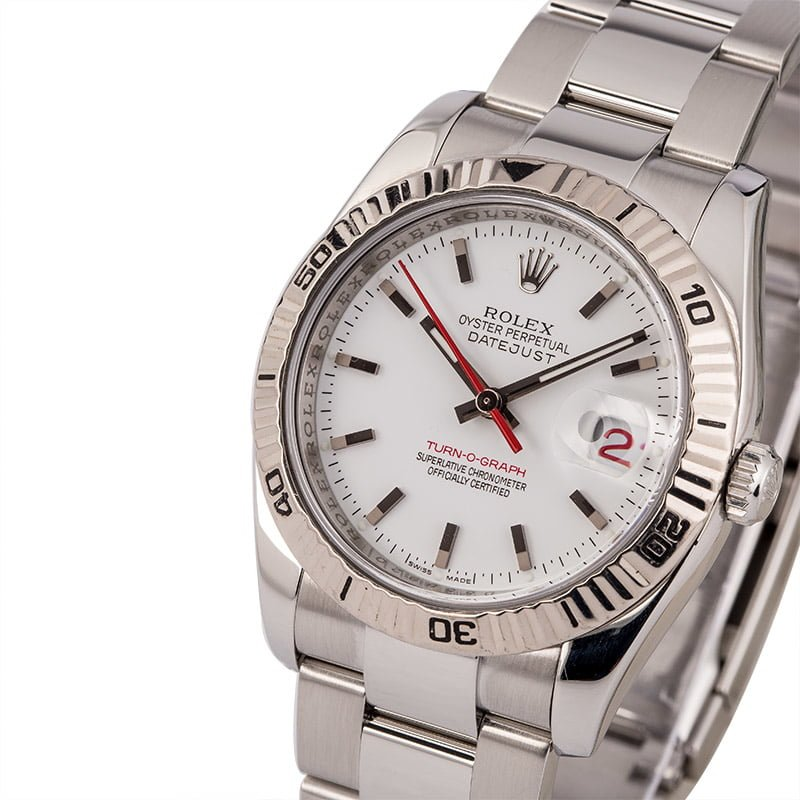 8e19e3a0b57 33 Certified Pre-Owned Rolex DateJust watches for Sale | Bob's Watches