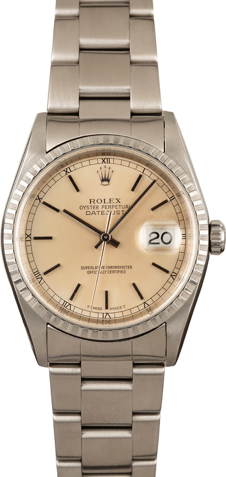 Rolex DateJust Stainless 16220