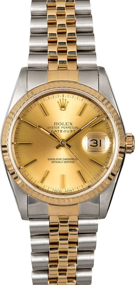 Pre-Owned 36MM Rolex 16233 Datejust 16233
