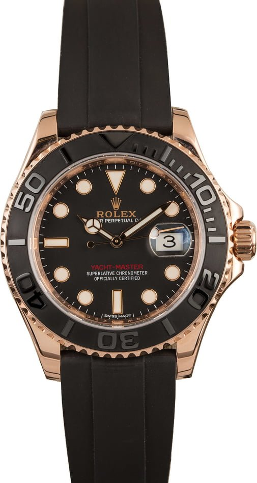 Rolex Everose Gold Yachtmaster 116655