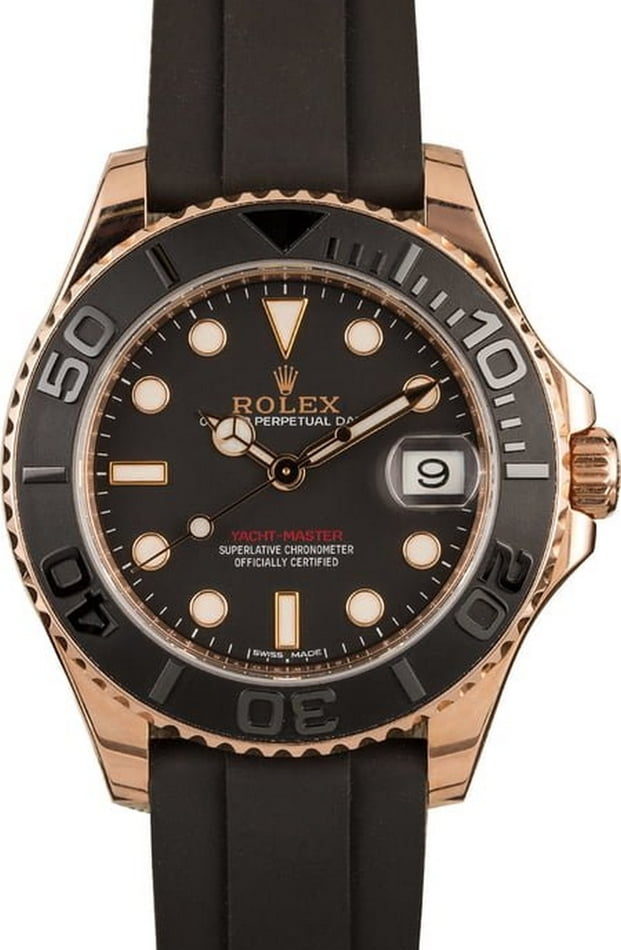 Pre-Owned Rolex Yacht-Master 268655 Everose Gold