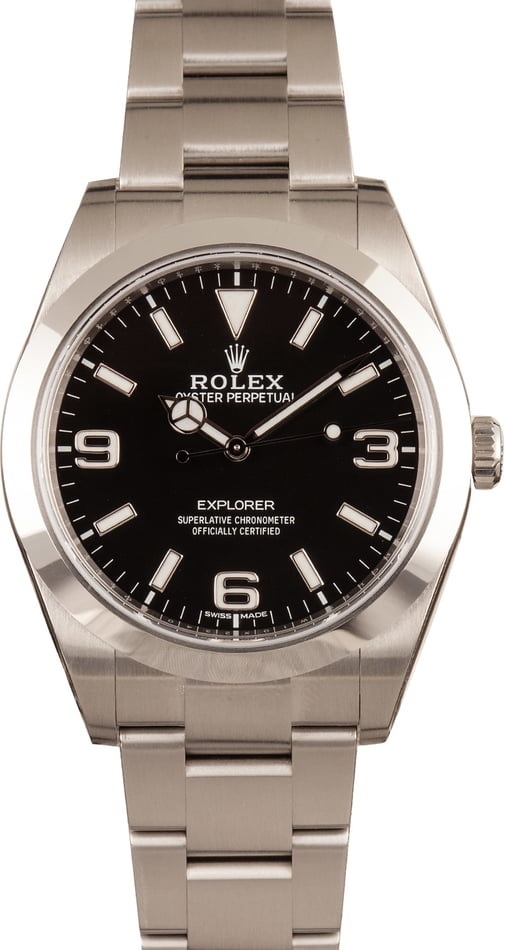 Rolex Explorer 214270 Pre-Owned 39MM