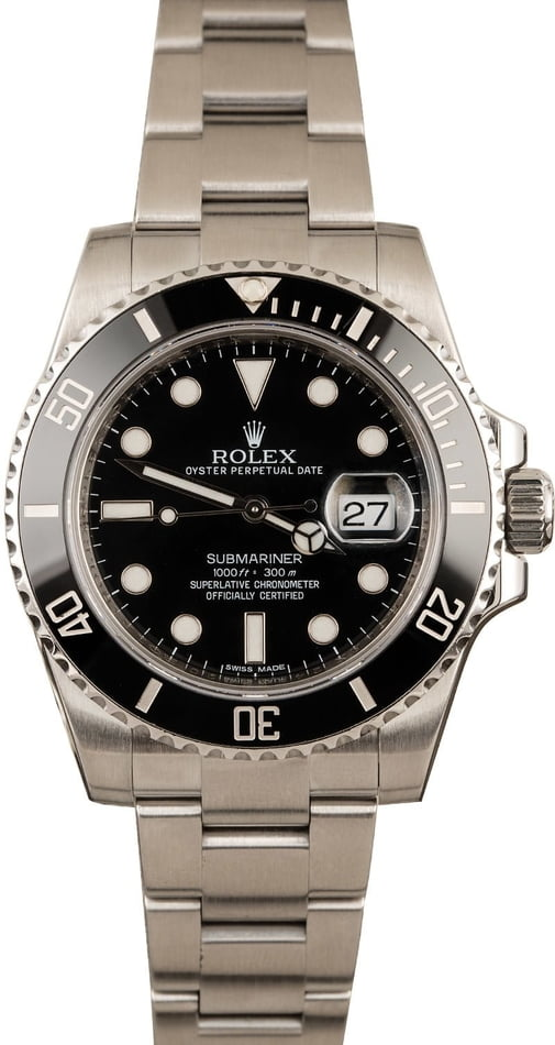 Pre-Owned Ceramic Rolex 40MM Submariner 116610