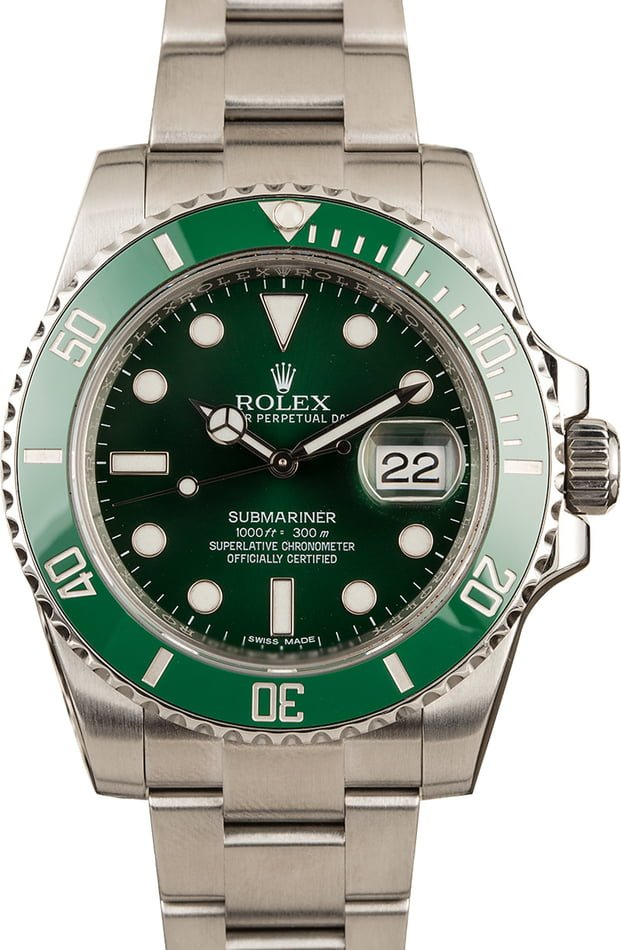 Rolex Submariner 116610V Green Dial