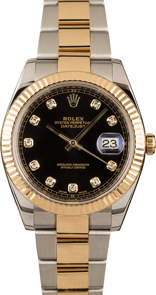 Rolex Datejust 41MM Diamond 126333