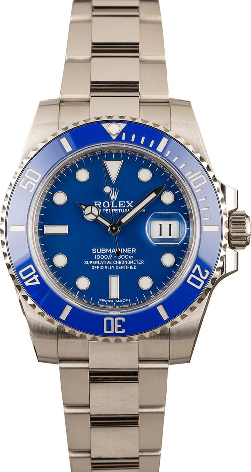 Pre-Owned Rolex Submariner 116619LB