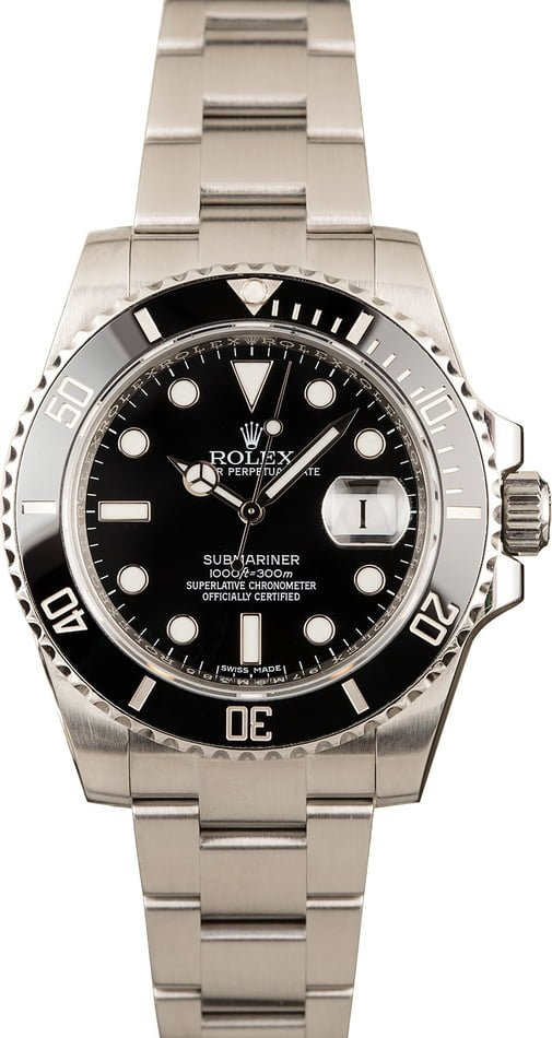 Rolex Submariner Black Ceramic 116610LN