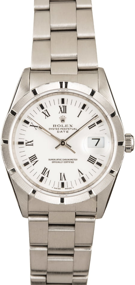Rolex Date 15210 Stainless Steel