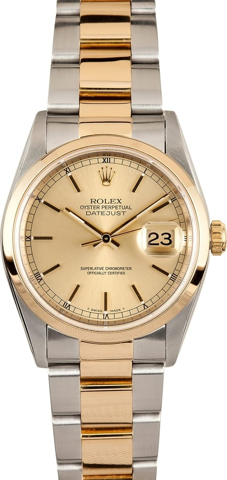 Rolex Oyster Datejust 16203